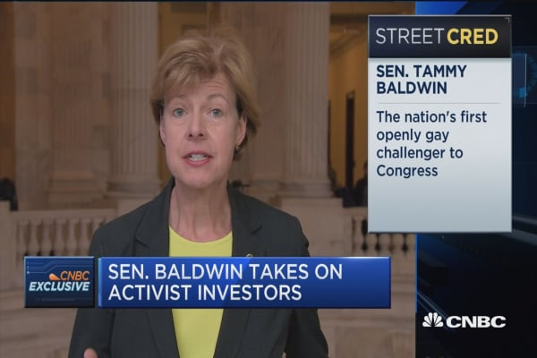Sen. Tammy Baldwin: We need answers from SEC nominees