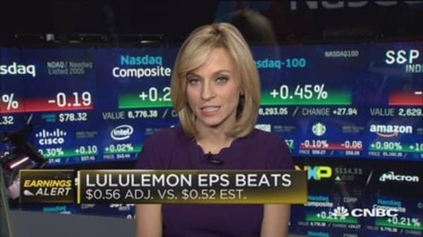 Lululemon beats the Street