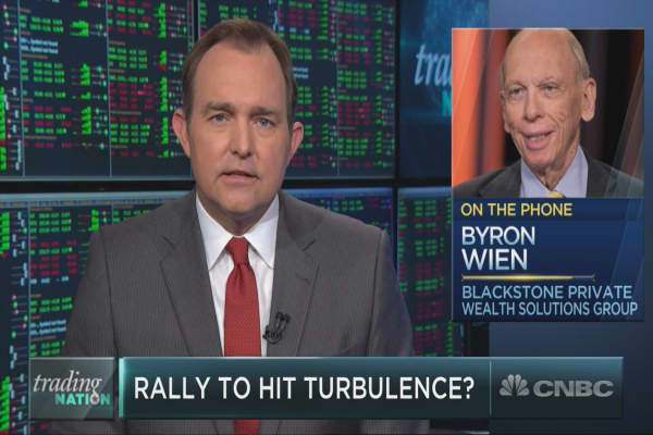 Blackstone's Wien: Fundamentals are strong, but the market is overbought