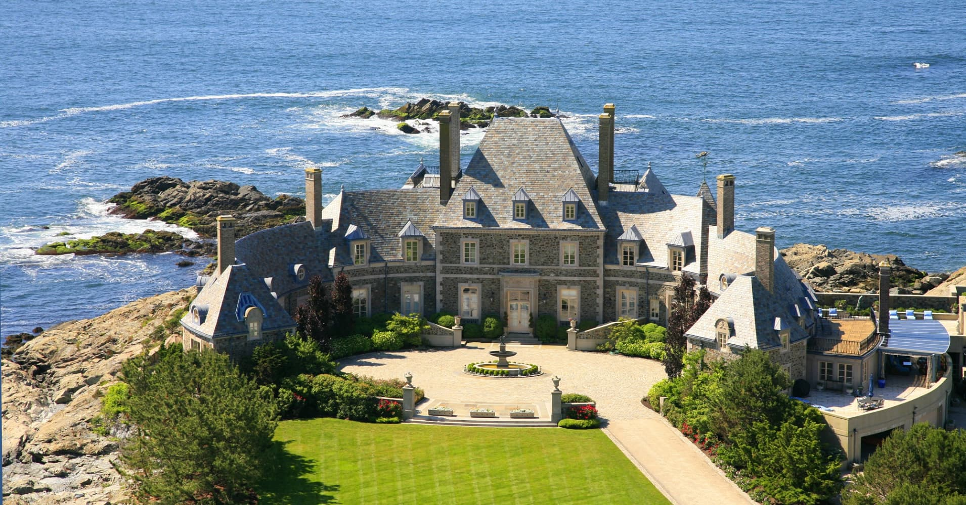 photos of jay leno s 13 5 million mansion in newport rhode island