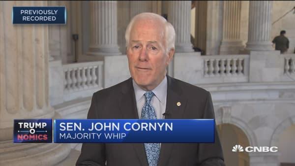 Sen. John Cornyn: GOP tax bill next steps