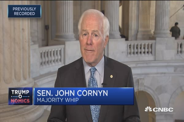 Sen. John Cornyn: GOP tax bill next steps