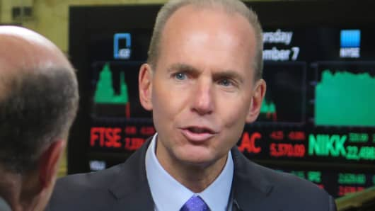 Dennis Muilenburg, CEO of Boeing.
