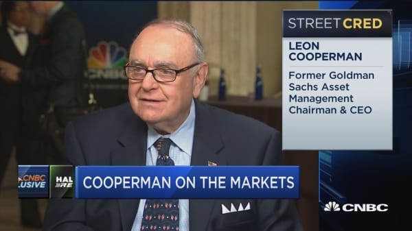 Leon Cooperman: Market is reasonably valued