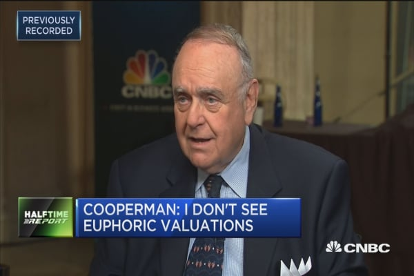 Leon Cooperman: If Hillary Clinton won, we'd be in a recession today