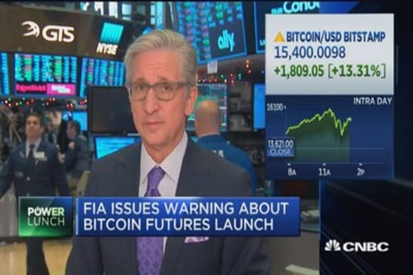 FIA issues warning about bitcoin futures launch