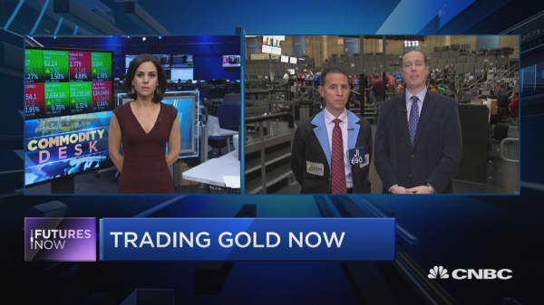 Why one trader is buying gold and not bitcoin