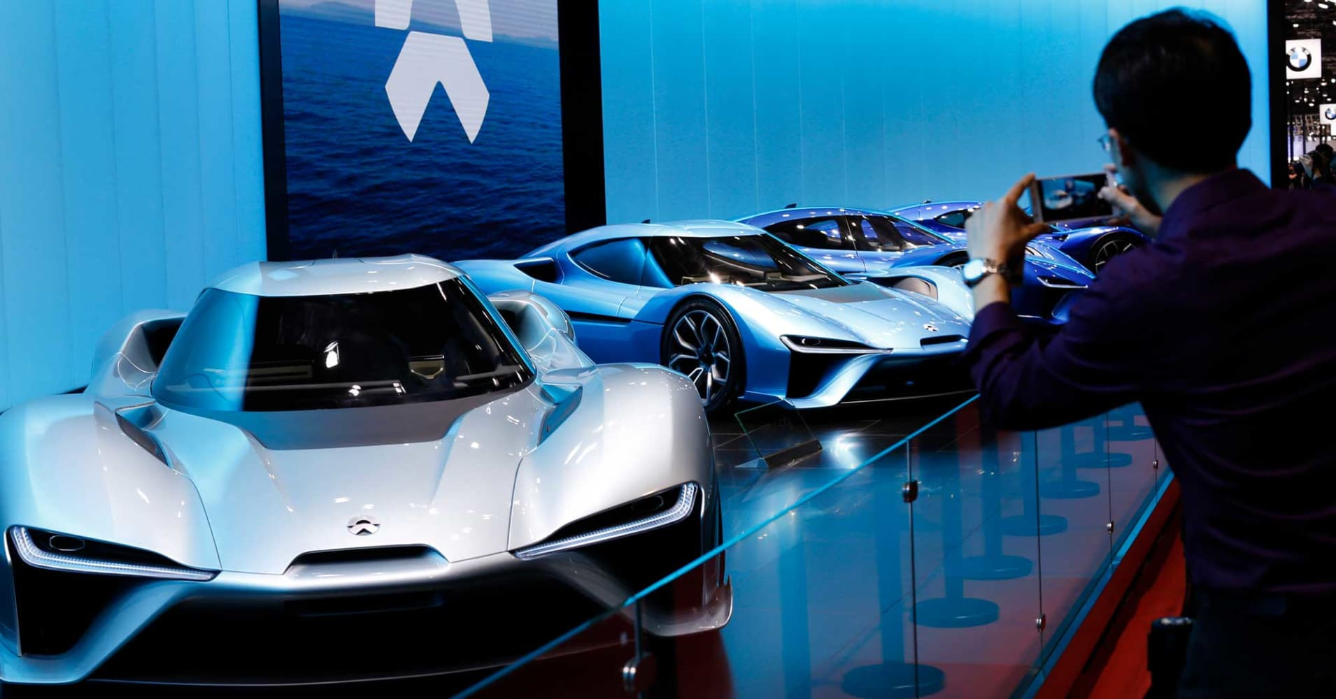 Nio, China rival to Tesla, says its US head to step down
