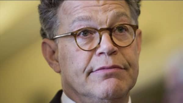 Al Franken will resign from Senate amid misconduct allegations - but blasts Trump and Roy Moore on the way out