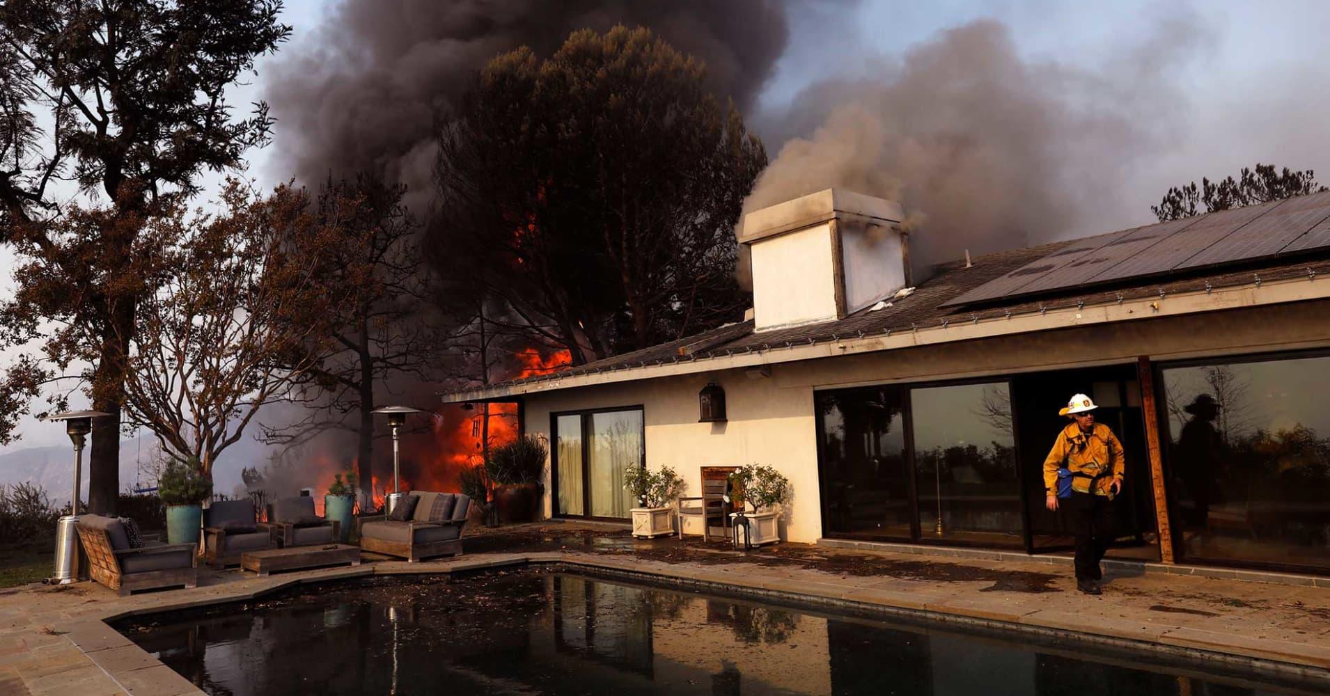 California S Big Fire Losses In 2017 Won T Mean Huge