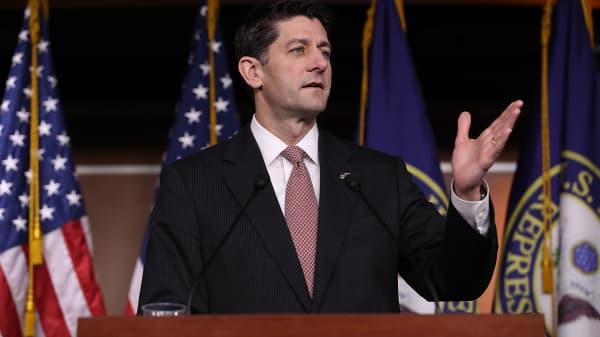 Speaker of the House Paul Ryan (R-WI).