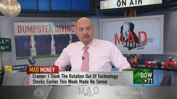 Cramer: Don't let sellers freak you out. The market's often wrong
