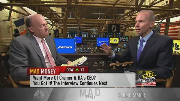 Boeing CEO says 'tax reform is the single most important thing' for US economy