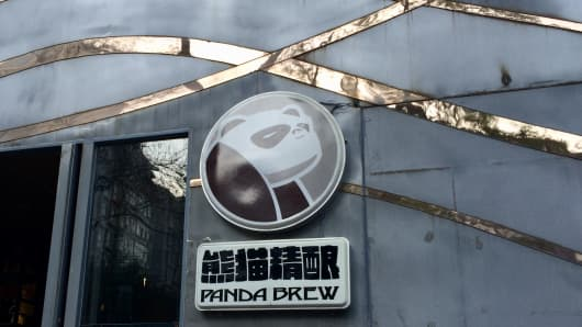 Panda Brew Pub in Beijing is home to several house craft beers. The company recently started shipping its brews to the U.K. and are looking to other beer-drinking markets eager for a taste of China.