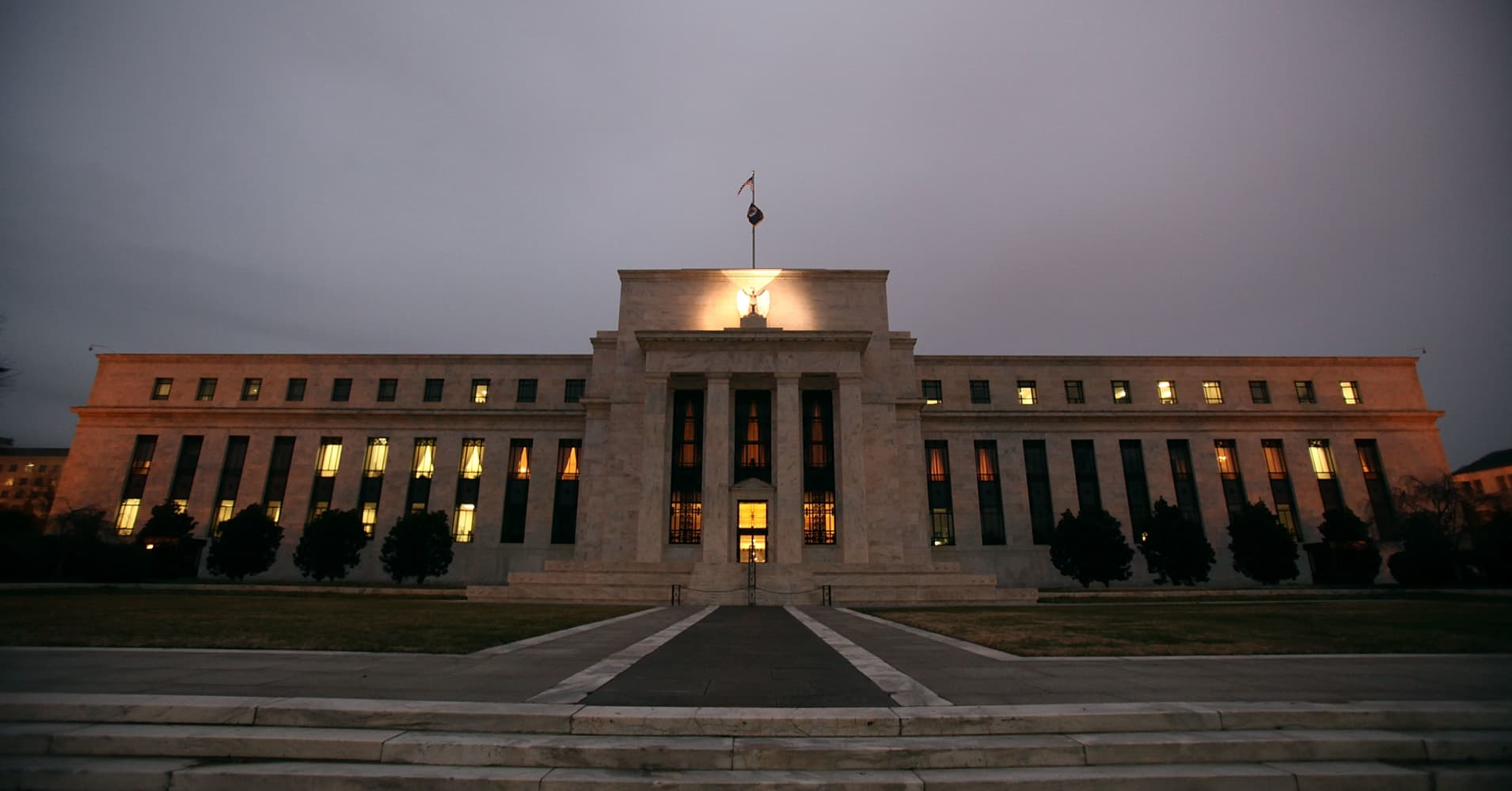 US Treasury yields little changed as investors await Fed minutes