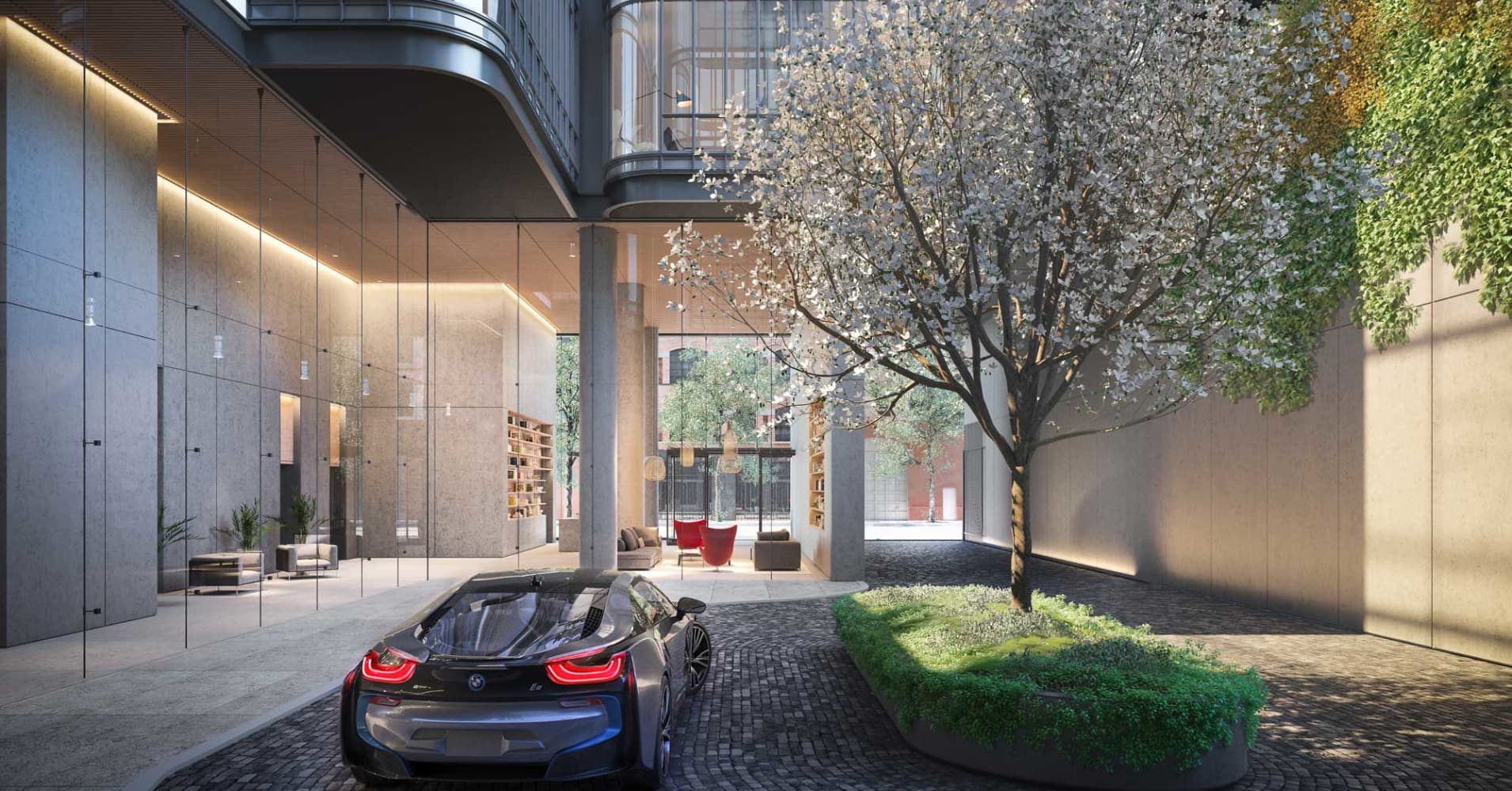 Luxury NYC Condo Offers Buyers BMW Car-sharing, Or $550K