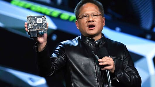 Nvidia founder, President and CEO Jen-Hsun Huang