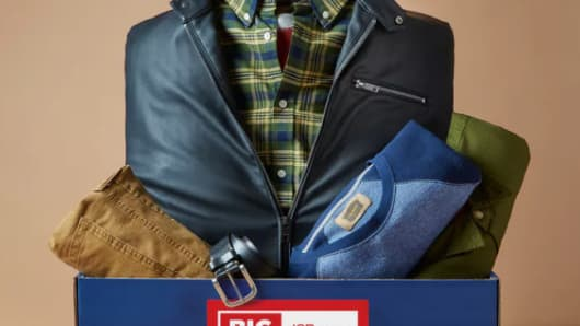 JC Penney partners with Bombfell for Big and Tall subscription service.