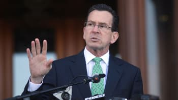 Connecticut Gov. Dan Malloy.