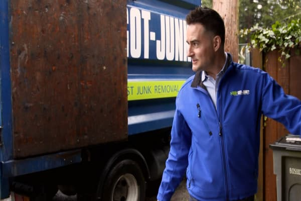 How one man turned his college side hustle hauling trash into a $350 million dollar empire