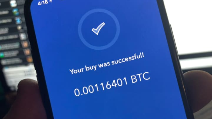 I bought $20 worth of bitcoin