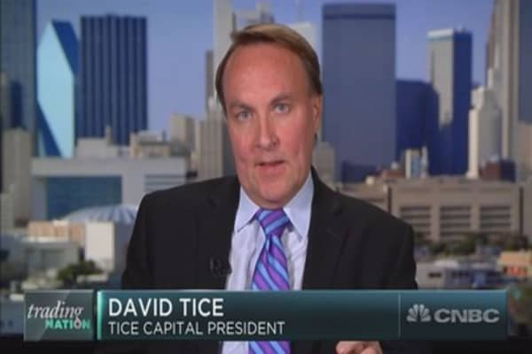 David Tice on his latest market outlook