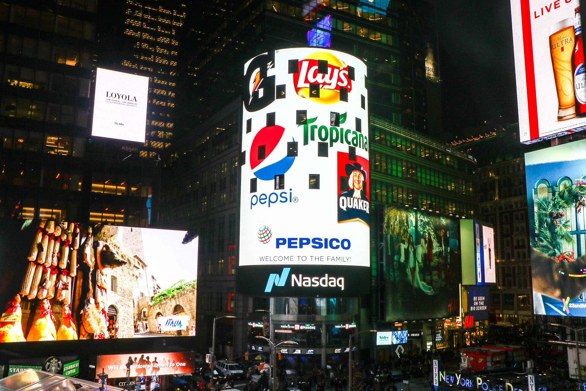 Pepsi Will Switch Its Stock Exchange Listing To Nasdaq From Nyse