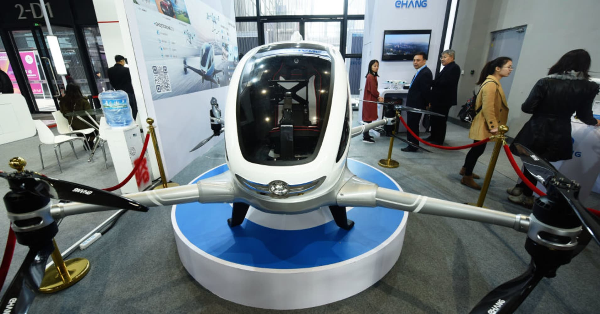 Chinese passenger drone maker says it will turn a profit within two years