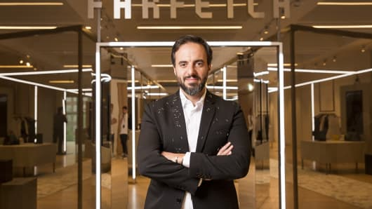 Jose Neves founded Farfetch in 2007