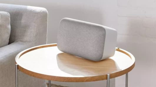 The Google Home Max speaker