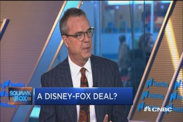 New York Times' James Stewart: Disney needs mainstream audience with Fox deal