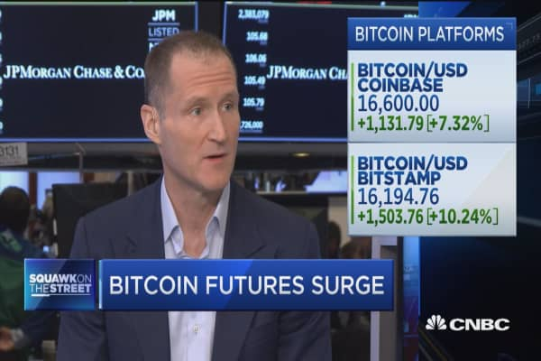Gene Munster: We're in a near-term bubble for bitcoin