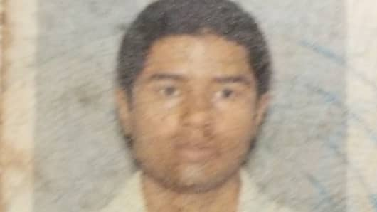U.S. Officials release a passport photo for Akayed Ullah, the suspected terrorist arrested for setting of an explosive device in a subway tunnel between 7th and 8th Ave on Dec. 11, 2017.