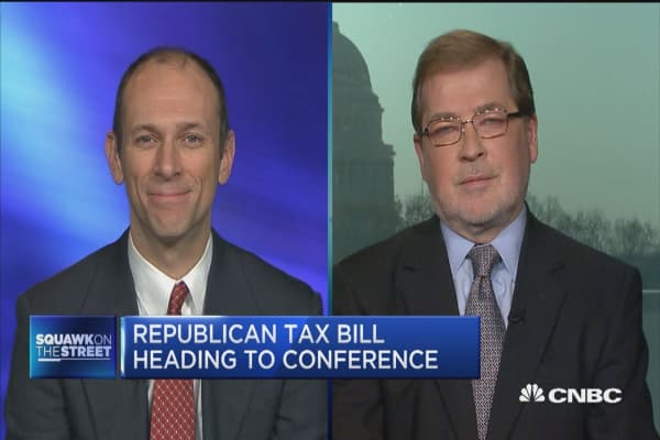 GOP tax bill heads to conference
