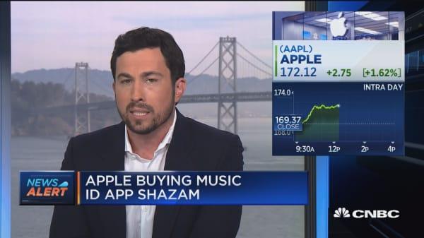 Apple is buying music ID app Shazam