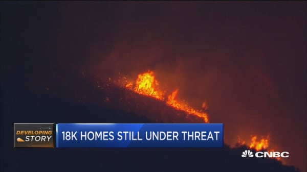 Thomas Fire now larger than all of New York City