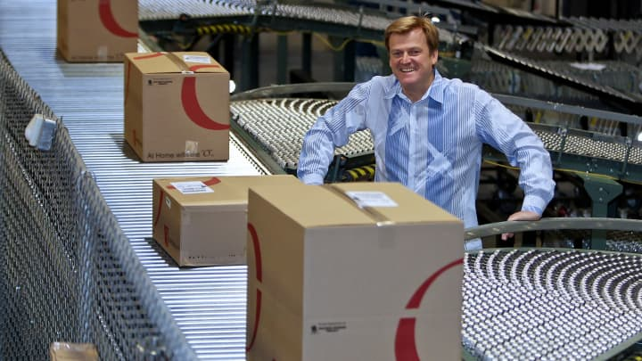 Patrick M. Byrne, chairman and chief executive officer of Overstock.com.