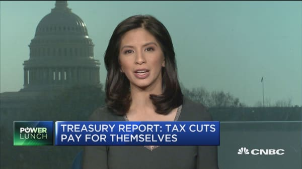 Treasury report: Tax cuts pay for themselves