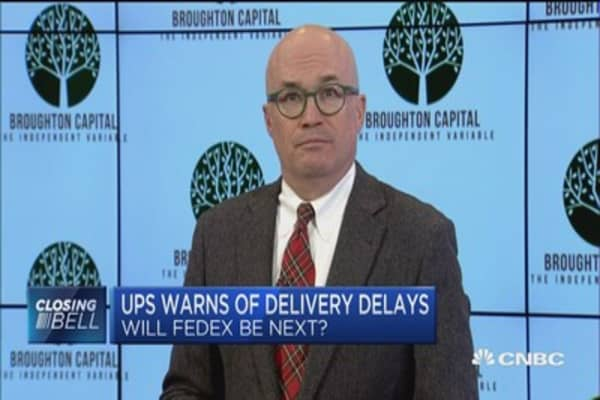 FedEx has invested far more heavily in infrastructure than UPS: Donald Broughton