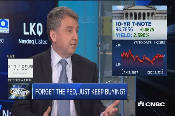 Wall Street pro says forget the Fed and just keep buying stocks