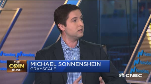 Grayscale's Michael Sonnenshein: Bitcoin is gold 2.0
