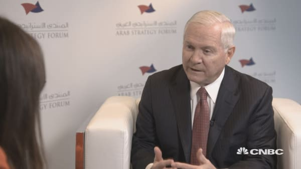 Russia has seen an opportunity in the Middle East and is seizing it: Gates