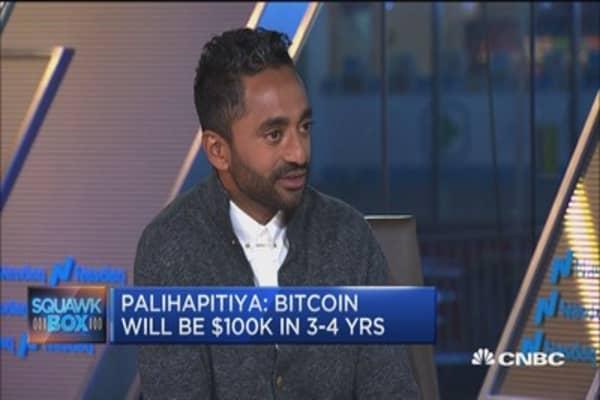 Chamath Palihapitiya: Bitcoin is $1 million a coin in the next 20 years