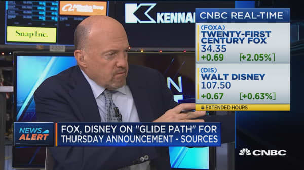 Fox and Disney on 'glide path' for Thursday deal announcement: Sources