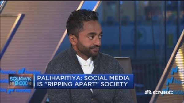 Why Chamath Palihapitiya's family gets no screen time