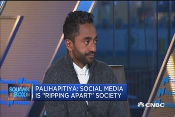 Why Chamath Palihapitiya's family gets no screen time