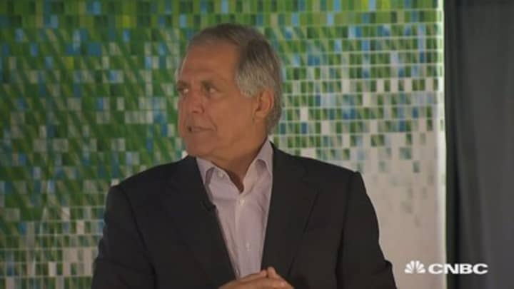 CBS CEO Les Moonves talks cord cutters, content deals and leadership at Net Net LA