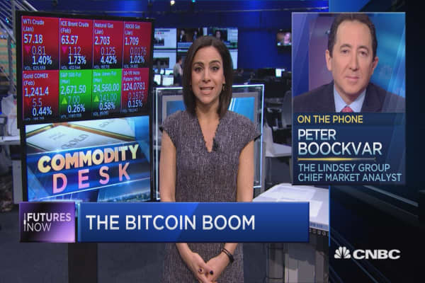 Bitcoin's price is a 'classic mania,' warns Wall Street veteran