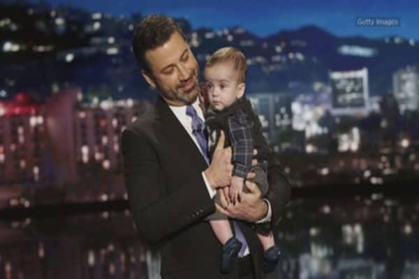 Jimmy Kimmel blasts Congress for not renewing children's health insurance program