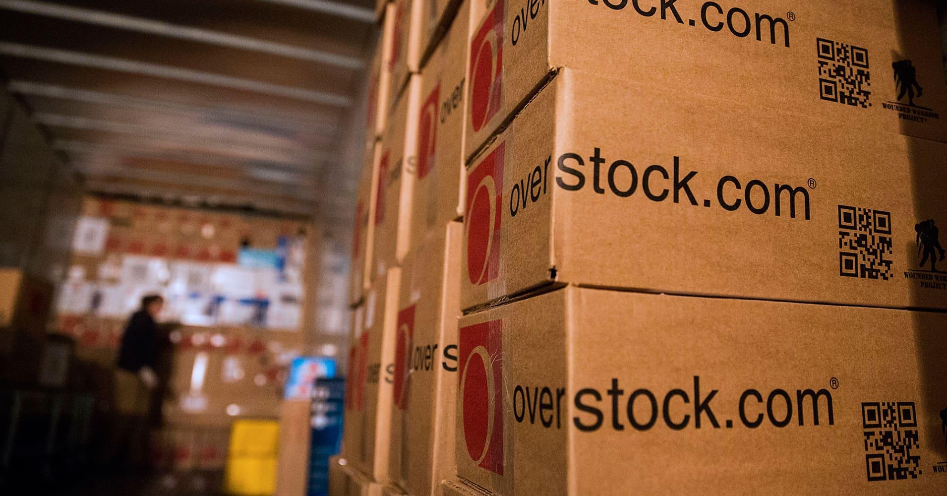 Overstock.com shares spike after blockchain unit announces for-profit property registry